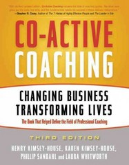 Co-Active Coaching 3rd Edition 9781857885675 1857885678