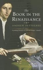 The Book in the Renaissance 1st Edition 9780300178210 0300178212