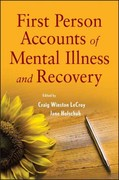 First Person Accounts of Mental Illness and Recovery 1st Edition 9780470444528 0470444525