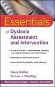 Essentials of Dyslexia Assessment and Intervention 1st Edition 9780470927601 0470927607