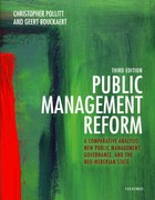 Public Management Reform 3rd edition 9780199595099 0199595097