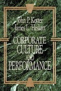 Corporate Culture and Performance 1st Edition 9781451655322 1451655320