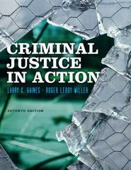 Criminal Justice in Action 7th edition 9780840029195 0840029195