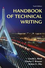 Handbook of Technical Writing 10th edition 9780312679453 0312679459