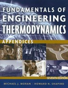 Fundamentals of Engineering Thermodynamics, Appendices 7th Edition 9781118108017 1118108019