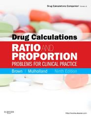 Drug Calculations 9th edition 9780323077507 0323077501