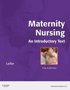 Maternity Nursing 11th Edition 9781437722093 1437722091
