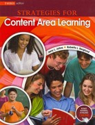 Strategies for Content Area Learning 3rd Edition 9780757587375 0757587372