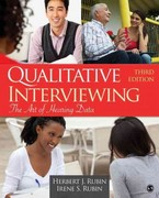 Qualitative Interviewing 3rd edition 9781412978378 1412978378