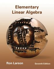 Elementary Linear Algebra 7th Edition 9781133110873 1133110878