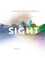 Music for Sight Singing 6th edition 9781133307976 1133307973