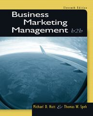Business Marketing Management 11th edition 9781133189565 1133189563