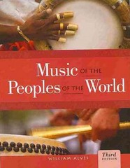 CD Set for Alves' Music of the Peoples of the World 3rd Edition 9781133307969 1133307965