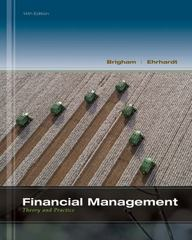Financial Management 14th Edition 9781111972202 1111972206