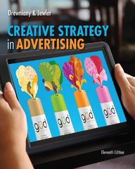 Creative Strategy in Advertising 11th Edition 9781133307266 1133307264