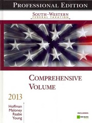 South-Western Federal Taxation 2013: Comprehensive 36th edition 9781133189695 1133189695