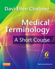 Medical Terminology 6th Edition 9781437734409 1437734405