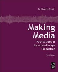 Making Media 3rd Edition 9780240815275 0240815270
