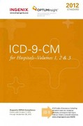 ICD-9-CM Standard for Hospitals- Volumes 1, 2 And 3 1st edition 9781601514929 1601514921