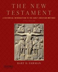 The New Testament 5th Edition 9780199757534 0199757534