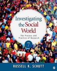 Investigating the Social World 7th Edition 9781412999809 1412999804