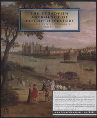 The Broadview Anthology of British Literature 2nd Edition 9781554810482 1554810485