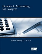 Finance and Accounting for Lawyers 1st Edition 9781935081715 1935081713