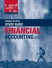 Financial Accounting, Study Guide 8th Edition 9781118102954 1118102959