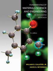 Fundamentals of Materials Science and Engineering 4th Edition 9781118061602 1118061608