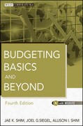 Budgeting Basics and Beyond 4th Edition 9781118127964 111812796X