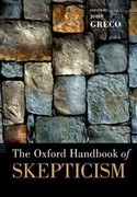 The Oxford Handbook of Skepticism 0 9780199836802 0199836809