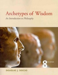 Archetypes of Wisdom 8th Edition 9781111837792 1111837791