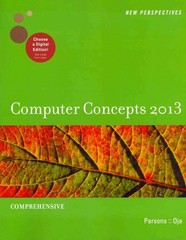 New Perspectives on Computer Concepts 2013: Comprehensive (New Perspectives (Course Technology Paperback)) 15th edition 9781133190561 1133190561