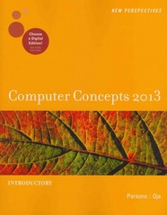 New Perspectives on Computer Concepts 2013 15th edition 9781133190578 113319057X
