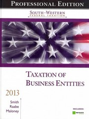 South-Western Federal Taxation 2013 16th edition 9781133189817 1133189814