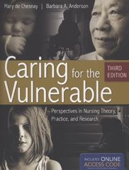 Caring For The Vulnerable 3rd Edition 9781449635923 144963592X