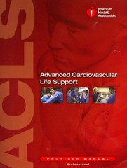 Advanced Cardiovascular Life Support 1st Edition 9781616690106 1616690100