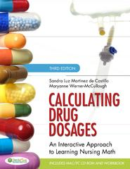 Calculating Drug Dosages 3rd Edition 9780803624979 0803624972