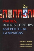 Parties, Interest Groups, and Political Campaigns 2nd edition 9781612050959 1612050956