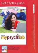 MyPsychLab -- Standalone Access Card -- for Psychology 3rd edition 9780205228171 0205228178