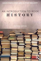 Introduction to Book History 2nd Edition 9780415688062 041568806X