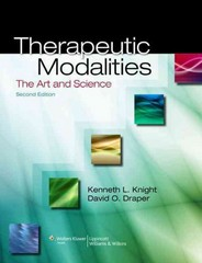 Therapeutic Modalities 2nd Edition 9781451102949 1451102941