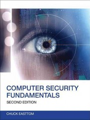 Computer Security Fundamentals 2nd Edition 9780789748904 0789748908