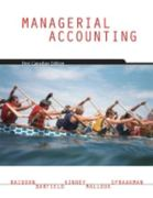 Managerial Accounting 0 9780176223311 0176223312