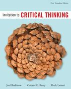 Invitation to Critical Thinking 0 9780176251475 0176251472