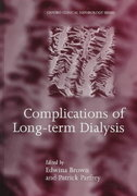 Complications of Long-term Dialysis 0 9780192628299 0192628291