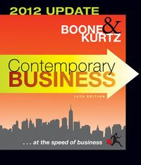 Contemporary Business 14th edition 9781118010303 1118010302