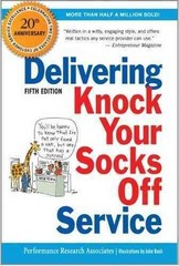 Delivering Knock Your Socks Off Service 5th edition 9780814417560 0814417566
