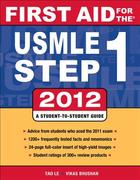First Aid for the USMLE Step 1 2012 22nd edition 9780071776363 0071776362