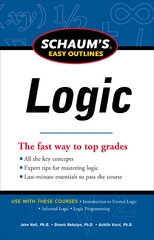 Schaum's Easy Outline of Logic, Revised Edition 1st Edition 9780071777537 0071777539